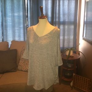 A.N.A. Cold Shoulder Tunic